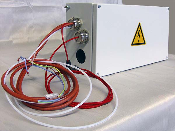 Flow control for water vapours – module with one mass flow controller